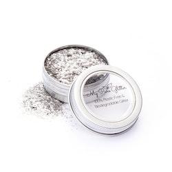 MyPureGlitter Shiny Silver Bio-Glitter® (Super Chunky)