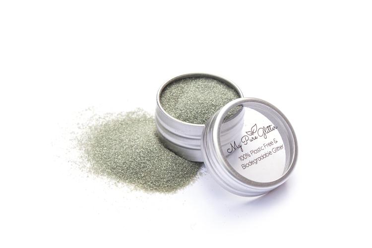 MyPureGlitter Sea Green Bio-Glitter® (Standard)