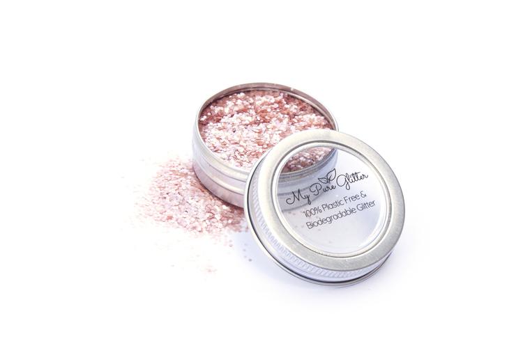 MyPureGlitter Rose Pink Bio-Glitter® (Super Chunky)