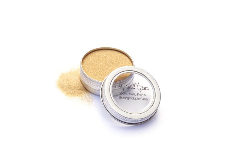 MyPureGlitter Sunny Gold Bio-Glitter® (Standard)