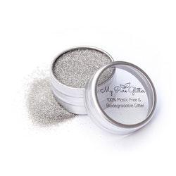 MyPureGlitter Shiny Silver Bio-Glitter® (Standard)