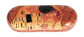Glasögonfodral, Kyssen, Gustav Klimt