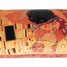 Glasögonetui, Kyssen, Gustav Klimt