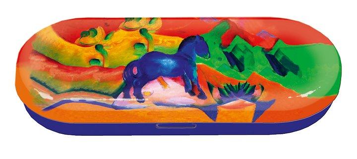 Glasögonfodral, Blå häst, Franz Marc,