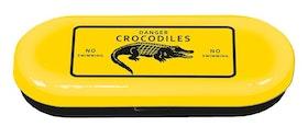 Glasögonfodral, Krokodil