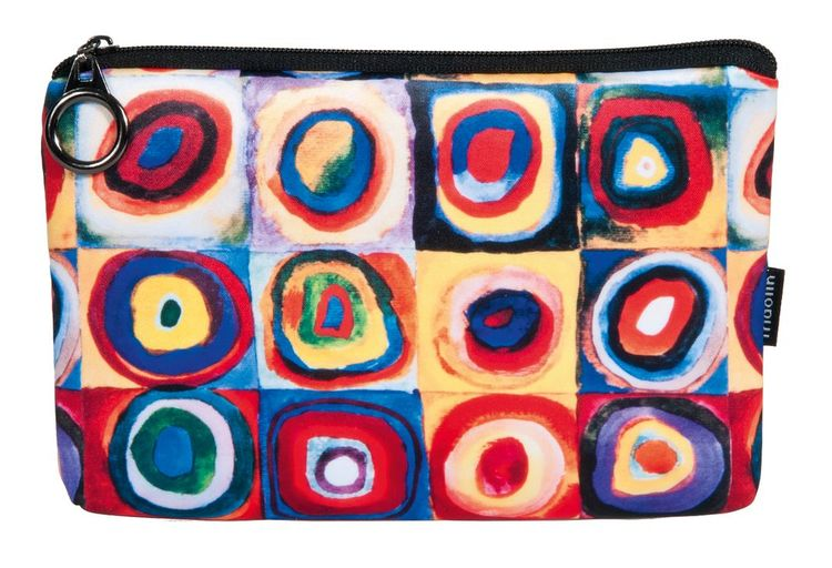 Necessär, Färgstudie kvadrater, Vasilij Kandinsky