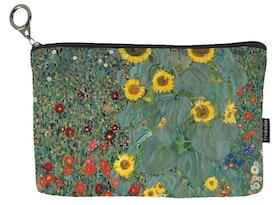 Necessär, Bauerngarten mit Sonnenblumen, Gustav Klimt