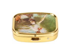 Pillerask med spegel, Stjärnan, Edgar Degas