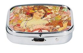 Pillerask med spegel, Louise, Art Nouveau