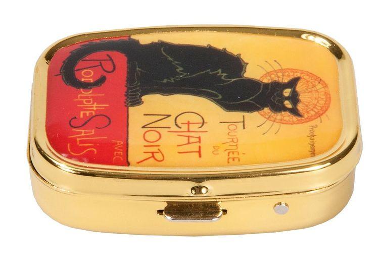 Pillerask med spegel, Chat Noir, Steinlen