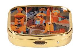 Pillerask med spegel, Tempelträdgården, Paul Klee