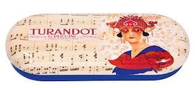 Glasögonfodral, Turandot, Opera
