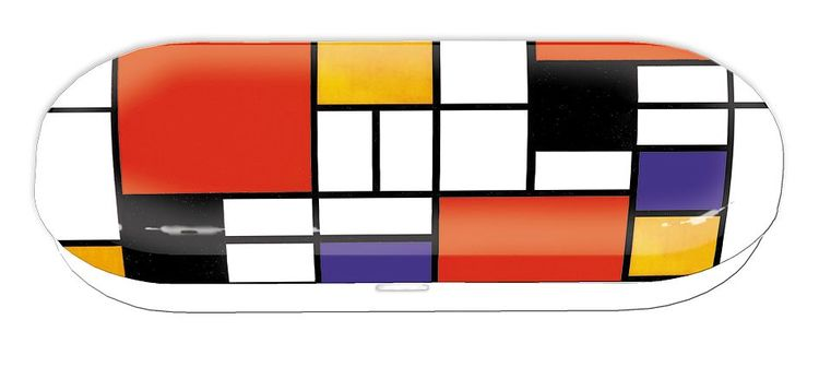 Glasögonfodral, Mondrian Style, Bauhaus