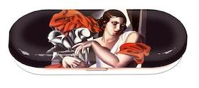 Glasögonfodral, Porträtt av Ira P, Tamara de Lempicka