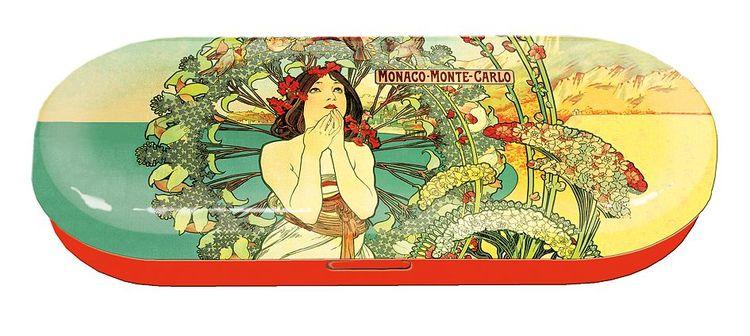 Glasögonfodral, Monte Carlo, Art Noveau