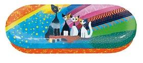 Glasögonfodral, Fyra katter, Rosina Wachtmeister