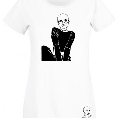 Bald and glasses