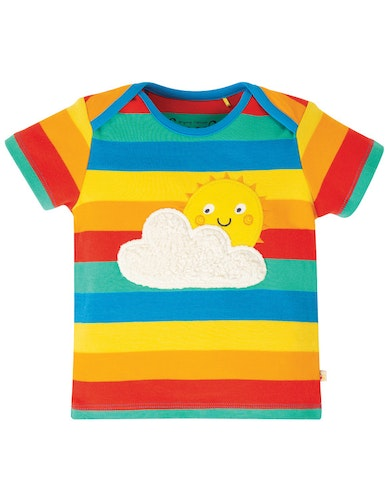 Bobster Applique Top, Rainbow