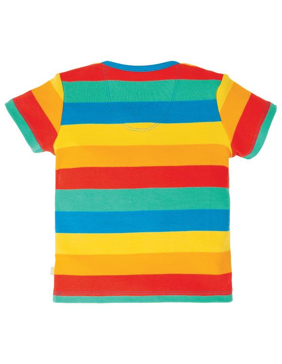 Bobster Applique Top, Rainbow