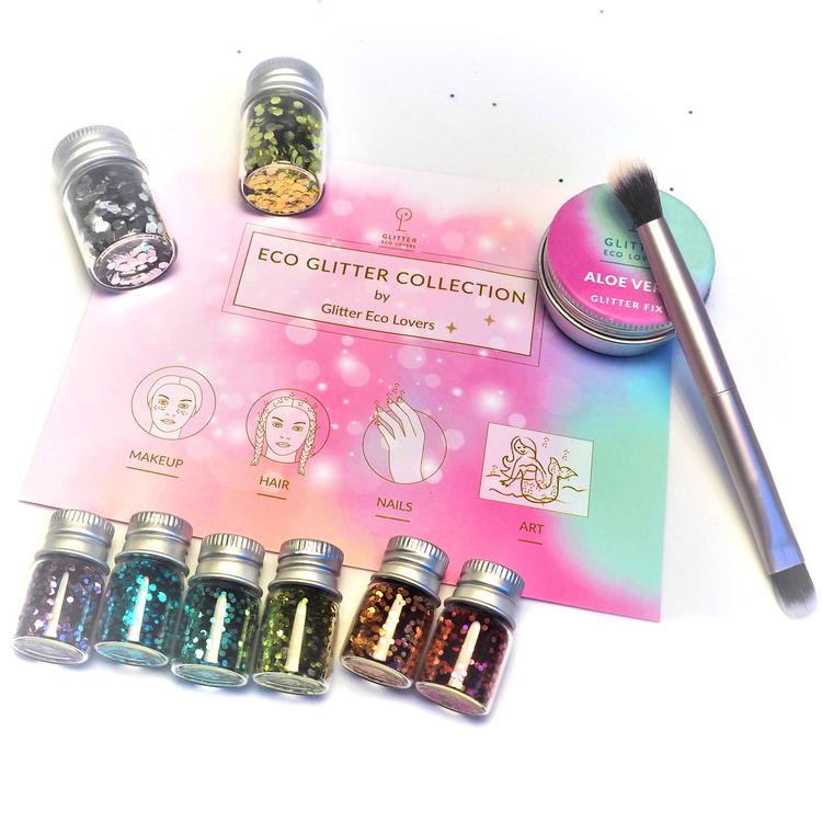 Eco Glitter Collection gavesett