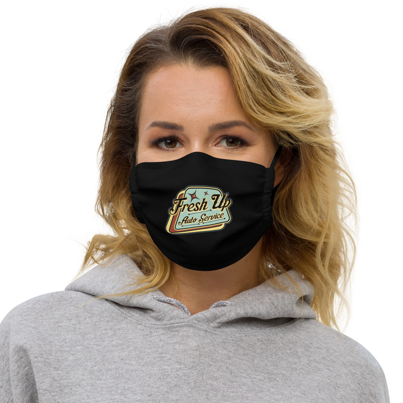 Fresh Up ansiktsmask - Black - One size