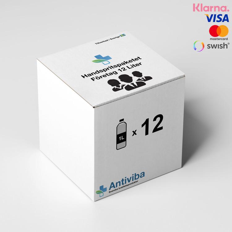 Handspritpaket Företag 12 Liter