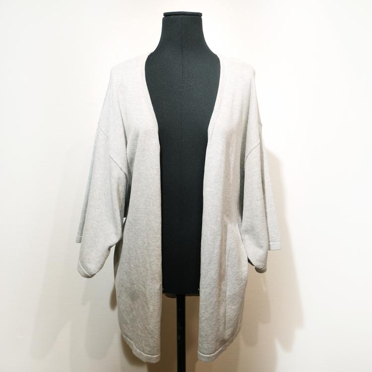 Ljusgrå tröja/kaftan Monki, Stl S