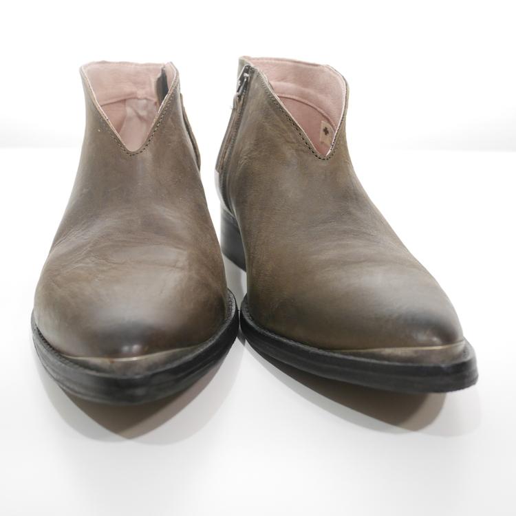Mörkgröna boots Sneaky Steve, Stl 40 (oanvända)