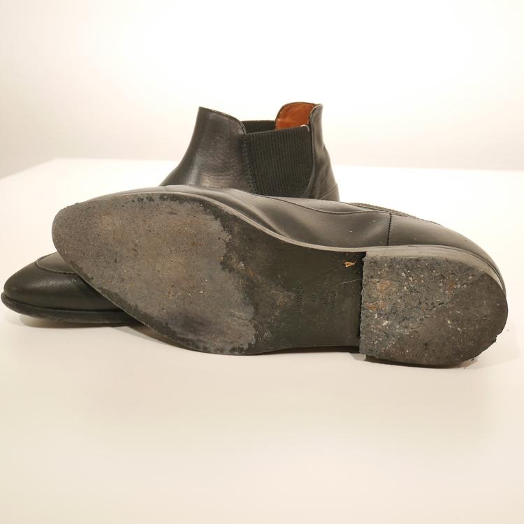 Svarta boots Rodebjer, Stl 40