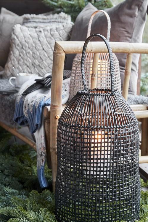 Hazel lanterna, svart liten