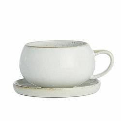 AMERA, kopp med fat white sand