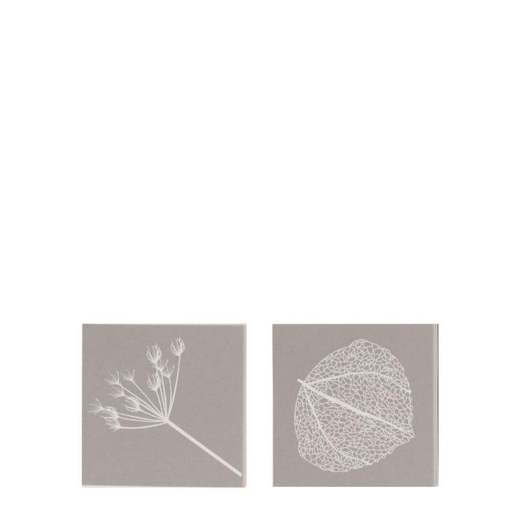KVIST, grå tändsticksask