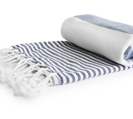 Hamam handduk, blå