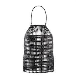 Hazel lanterna, svart stor