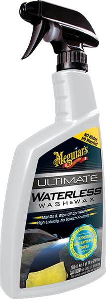Ultimate Waterless Wash & Wax Anywhere