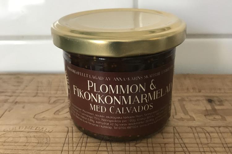 Plommon & Fikonmarmelad med Calvados