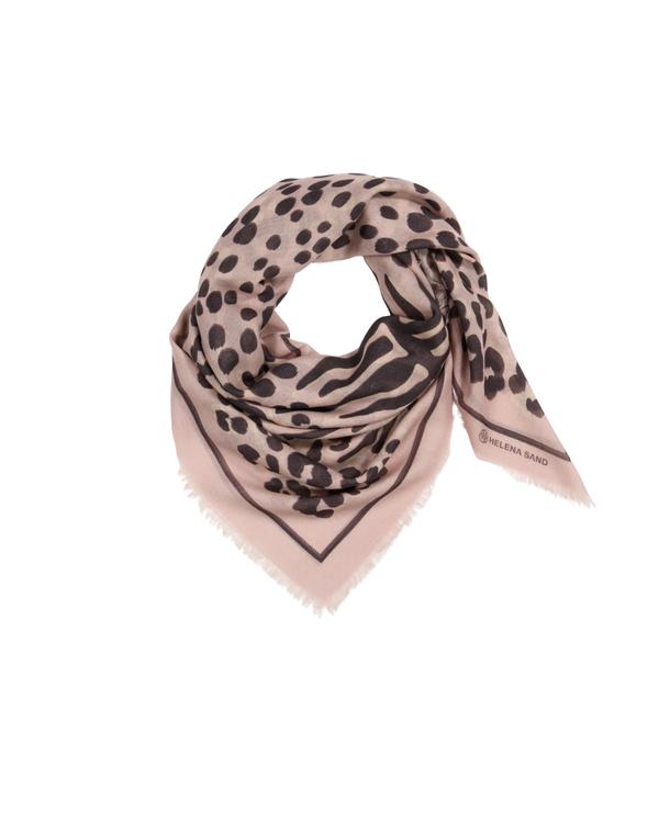 Animal celebration Wool scarf