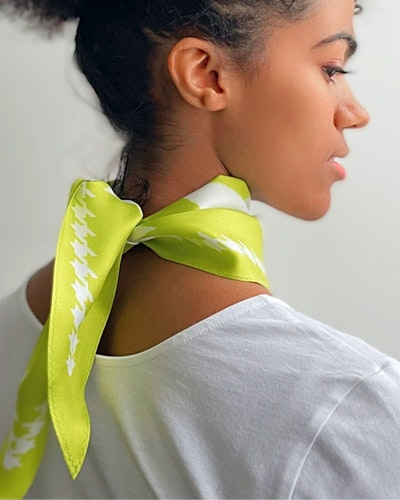 Diamond scarf                       URBAN LIME