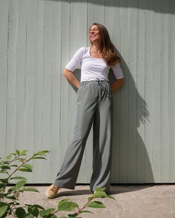 Hazel pant Pine green