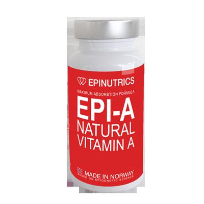EPI-A kosttilskudd av naturlige ingredienser