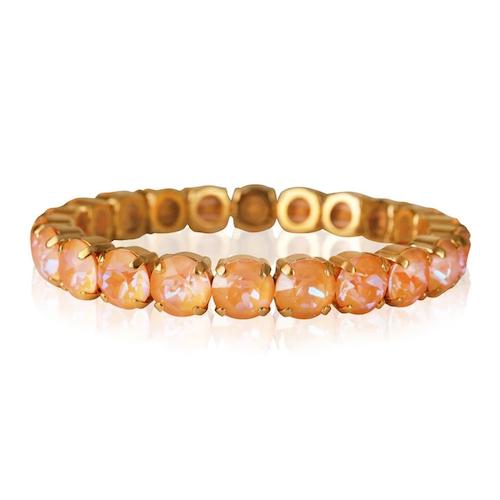 Gia Stretch Bracelet Peach DeLite