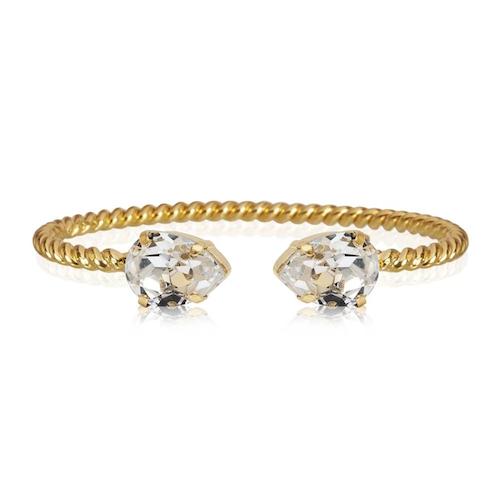 Mini Drop Bracelet Crystal