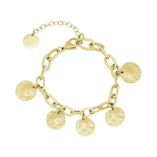 Rivoli Charm Bracelet Gold