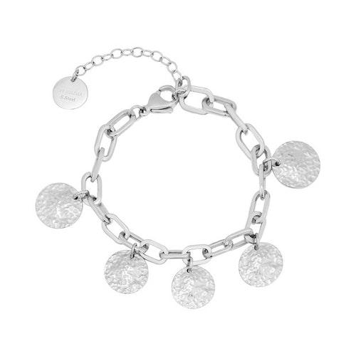 Rivoli Charm Bracelet Silver