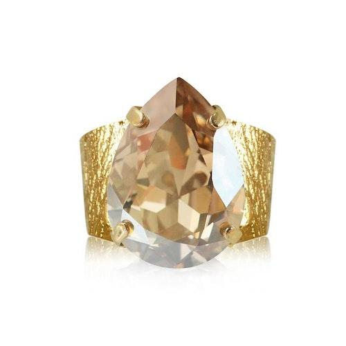 Classic Drop Ring Golden Shadow