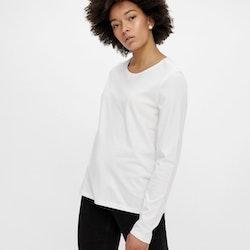 ECO Långärmad T-shirt Vit