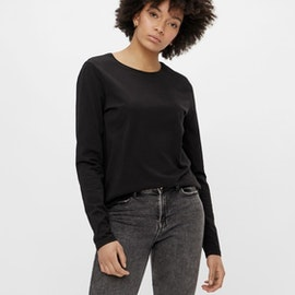 ECO Långärmad T-shirt Svart