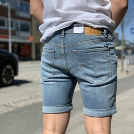 Jeansshorts Light Blue Denim