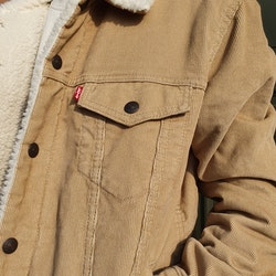 Levis Manchester Sherpa Trucker Jacket