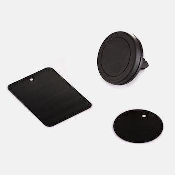 Mobilhållare för fläktgallret i bil, Universal, Magnetisk